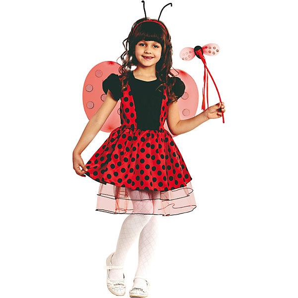 Батик Карнавальный костюм Божья Коровка Батик для девочки incity карнавальный костюм единорог