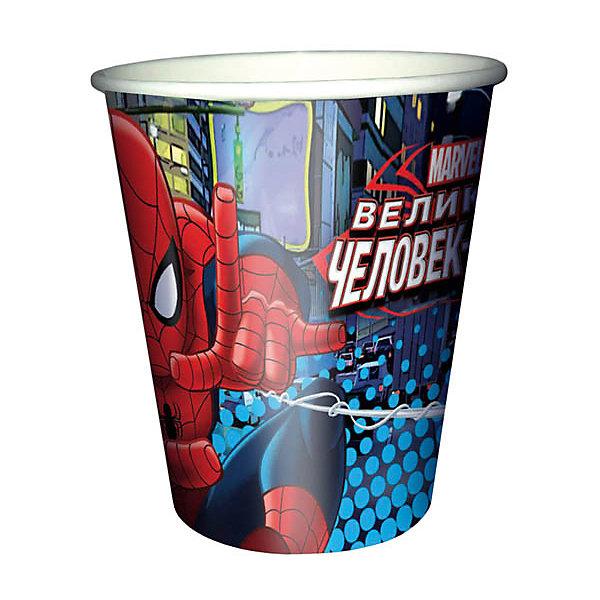 Патибум Стаканы Патибум Человек-Паук 200 мл., 6 шт. часть ями yami 6 мока кофе фильтровальной бумаги 4 6 человек