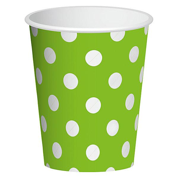 Стаканы Патибум Горошек зелёный 250 мл., 6 шт.Стаканы<br>Характеристики:<br><br>• возраст: от 3 лет;<br>• тип игрушки: стаканы;<br>• количество: 6 шт;<br>• объем: 250 мл;<br>• цвет: зеленый;<br>• вес: 38  гр;<br>• размеры: 7,5х13х24,5 см;<br>• материал: бумага;<br>• бренд: Патибум;<br>• страна производитель: Россия.<br><br>Стаканы бумажные «Горошек Зеленый» 6шт подойдут для организации детской вечеринки, дня рождения и других праздников. Стаканы выполнены из бумаги и имеют объем 250 мл. Они имеют расцветку в крупный горошек. Данные тарелки входят в состав коллекции праздничной одноразовой посуды «Горошек Зеленый» и лучше всего их использовать для сервировки праздничного стола вместе с другими элементами из этой коллекции.<br><br>Изделия выполнены из качественных материалов, предназначенных для детей возрастом от трех лет. Такая посуда в виде стаканчиков станет отличным дополнением праздничного настроения. А эта  расцветка понравится и мальчикам, и девочкам.<br> <br>Стаканы бумажные «Горошек Зеленый» 6шт можно купить в нашем интернет-магазине.<br>Ширина мм: 75; Глубина мм: 130; Высота мм: 245; Вес г: 38; Возраст от месяцев: 36; Возраст до месяцев: 2147483647; Пол: Унисекс; Возраст: Детский; SKU: 7224700;