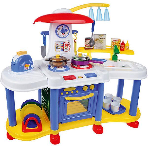 ABtoys Детская кухня Abtoys Помогаю маме, 30 предметов игрушечная посуда hasbro набор моя первая кухня