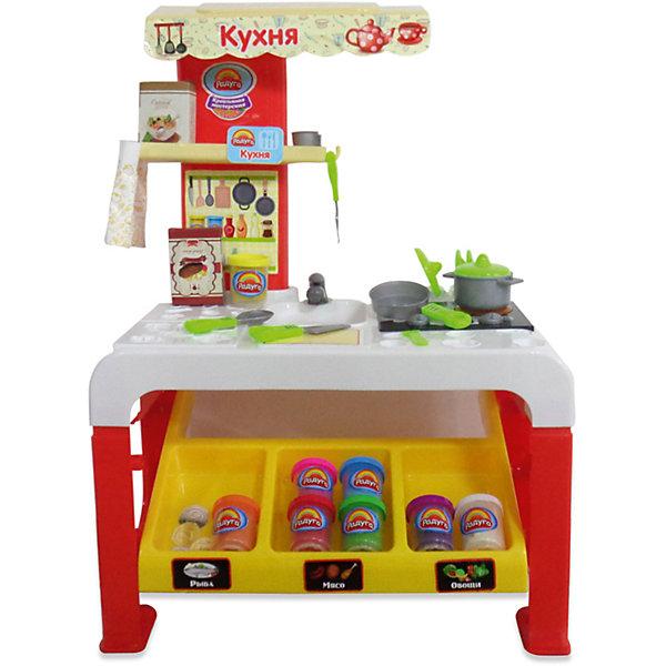 Детская кухня Abtoys Креативная мастерская, 32 предметаДетские кухни<br>Набор Креативная мастерская <br><br>Комплектация (32 предмета):<br>- 8 баночек пластилина<br>- стол<br>- овсяная каша в коробке, стейк к коробке<br>- столовые приборы для приготовления пищи (3 предмета)<br>- монеты<br>- пакет для продуктов<br>- кастрюля<br>- сковорода<br>- стакан<br>- 2 тарелки<br><br>Функции:<br>- световые эффекты<br>- звуковые эффекты<br><br>Дополнительно: <br>Работает от 3-х батареек типа АА, не в комплекте.<br>Инструкция не требуется.<br>Ширина мм: 130; Глубина мм: 544; Высота мм: 477; Вес г: 227; Возраст от месяцев: 36; Возраст до месяцев: 144; Пол: Унисекс; Возраст: Детский; SKU: 7225165;