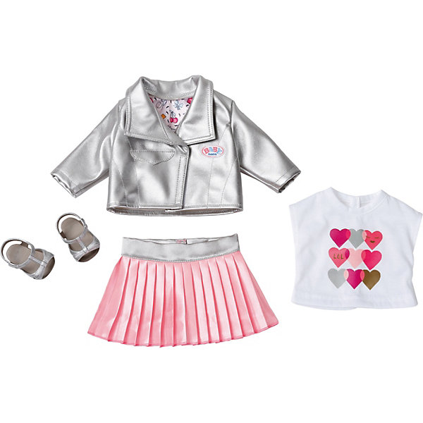 Zapf Creation Одежда BABY born Законодательница моды dresses dress befree for female  half
