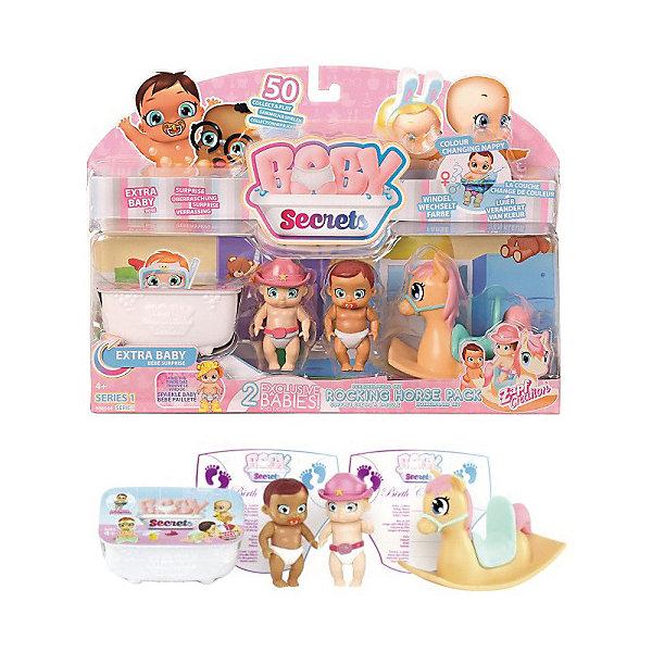 Zapf Creation Набор с лошадкой-качалкой BABY Secrets игрушка baby secrets набор с колыбелью блистер