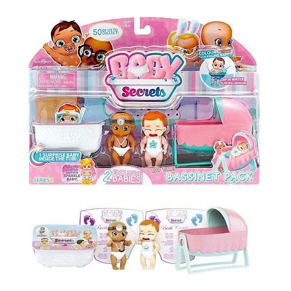 Zapf Creation Набор с колыбелью BABY Secrets игрушка baby secrets набор с колыбелью блистер