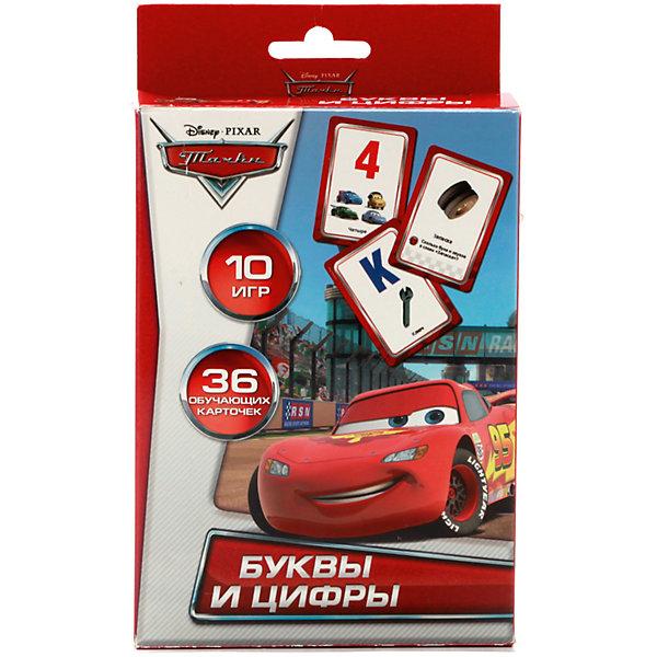 Карточки развивающие дизайн  Дисней   Тачки  Учим алфавит и цифры 36 карточекМатематика<br>• ISBN: 4690590060452;<br>• возраст: от 3 лет;<br>• иллюстрации: цветные;<br>• упаковка: картонная коробка;<br>• материал: картон;<br>• количество карточек: 36;<br>• формат: 16х10х2 см.;<br>• вес: 120 гр.;<br>• издательство: УМКА;<br>• страна: Россия.<br><br>Карточки развивающие «Дисней  Тачки. Учим алфавит и цифры» - 36 дидактических карточек с цифрами и буквами помогут малышам-дошкольникам быстрее освоить азы арифметики и русского языка. <br><br>Карточки напечатаны на плотном картоне. Каждая из них украшена ярким рисунком, на них присутствуют изображения героев мультфильма «Тачки». Некоторые из карточек содержат определенные вопросы, отвечая на которые, ребенок легче усваивает материал. <br><br>Развивающие детские книги «УМКА» полностью отвечают современной тенденции книжного рынка – интерактивность и обучение детей раннего возраста и дошкольников. Широкий ассортимент книг основан на авторском тексте, красочных иллюстрациях, любимых мультяшных героях и  безупречном качестве.<br><br>Данный набор - отличный выбор как для подарка, так и для собственного использования.<br><br>Карточки развивающие «Дисней  Тачки. Учим алфавит и цифры», 36 карточек, Изд. УМКА можно купить в нашем интернет-магазине.<br>Ширина мм: 16; Глубина мм: 2; Высота мм: 10; Вес г: 120; Возраст от месяцев: 36; Возраст до месяцев: 84; Пол: Унисекс; Возраст: Детский; SKU: 7225549;