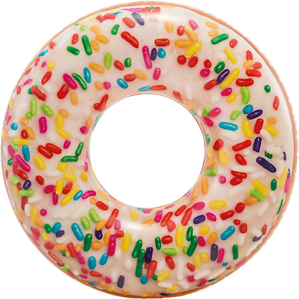 Intex Круг для плавания Пончик, 114 см