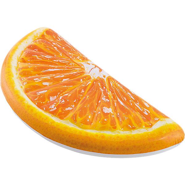 Intex Надувной матрас Долька апельсина