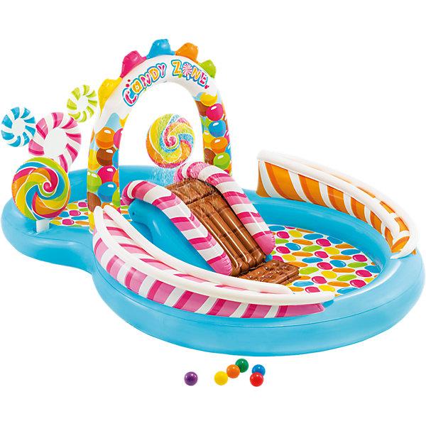 Intex Надувной игровой центр-бассейн Территория сладостей, 57149NP