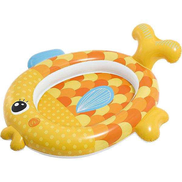 Intex Детский надувной бассейн Золотая рыбка подружка бассейн детский intex кристалл 147 33