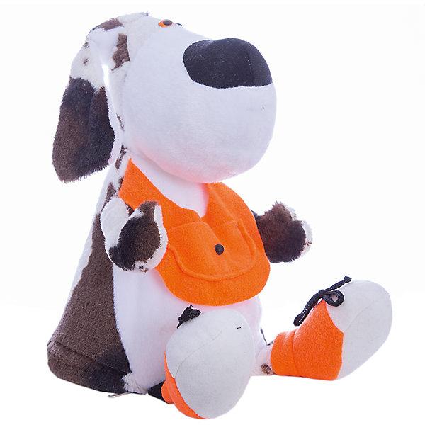 Собака Жорик, 30 см, с ёмкостью для конфетСимвол года<br>Характеристики товара:<br>• возраст: от 3 лет<br>• материал: текстиль (100% полиэстер)<br>• высота игрушки: 30см<br>• игрушка: собака<br>• вес игрушки: 207гр.<br>• страна бренда: Россия<br><br>Мягкая игрушка Собака Жорик с ёмкостью для конфет. Эта игрушка непременно понравится маленькому сладкоежке и не только. Ведь внутрь игрушки могут спрятаться не только любимые конфеты, а также различные нужные вещи малыша.<br><br>Игрушку Собака Жорик, 30 см, с ёмкостью для конфет можно купить в нашем интернет-магазине.<br>Ширина мм: 180; Глубина мм: 300; Высота мм: 180; Вес г: 207; Возраст от месяцев: 36; Возраст до месяцев: 2147483647; Пол: Унисекс; Возраст: Детский; SKU: 7226810;