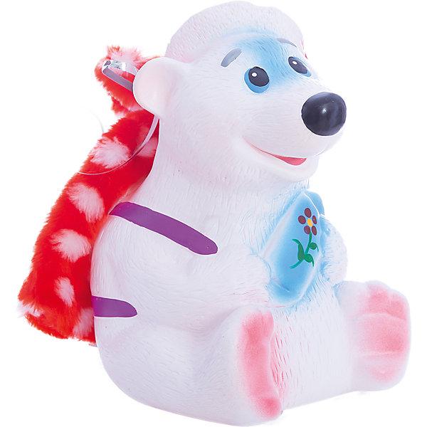 Батик Кукла Белый мишка, 24 см goki мягкая кукла мишка с комплектом одежды goki