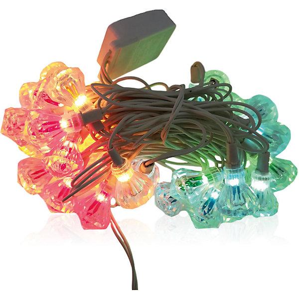 Электрогирлянда, 33ЛНовогодние электрогирлянды<br>Электрогирлянда, 33Л, обычные лампочки, декорации на лампочках- бриллианты, белый шнур, с контроллером 8 функций, внутренняя<br>Ширина мм: 75; Глубина мм: 160; Высота мм: 90; Вес г: 354; Возраст от месяцев: 36; Возраст до месяцев: 2147483647; Пол: Унисекс; Возраст: Детский; SKU: 7227956;