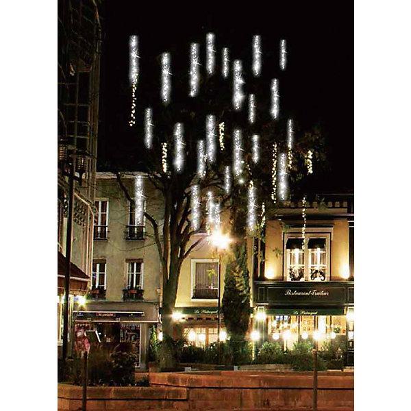 Светодиодная гирлянда, 384Л-24V, c эффектом падающего снега, длина: 2,7м, уличнаяНовогодние электрогирлянды<br>Характеристики:<br><br>• возраст: от 3 лет<br>• количество лампочек: 384 шт.<br>• длина гирлянды: 2,7 м.<br>• напряжение: 24 В.<br><br>Светодиодная гирлянда представляет шнур длиной 2,7 м, на котором расположены трубки, внутри которых размещены светодиодные линейки. При включении гирлянда воспроизводит эффект падающего снега, когда огни светодиодов загораясь вверху постепенно опускаются вниз и исчезают, чтобы через мгновение загореться вверху и вновь устремиться вниз. Степень влагозащиты позволяет использовать гирлянду на улице.<br><br>Светодиодную гирлянду, 384Л-24V, c эффектом падающего снега, длина: 2,7м, уличную можно купить в нашем интернет-магазине.<br>Ширина мм: 60; Глубина мм: 175; Высота мм: 105; Вес г: 333; Возраст от месяцев: 36; Возраст до месяцев: 2147483647; Пол: Унисекс; Возраст: Детский; SKU: 7227964;