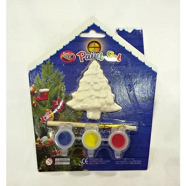 Набор для детского творчества, керамика, ёлка, 3 краски, в синей коробке  15*3,5*18 смНовогодние наборы для творчества<br>Набор для детского творчества, керамика, ёлка, 3 краски, в синей коробке  15*3,5*18 см<br>Ширина мм: 37; Глубина мм: 140; Высота мм: 140; Вес г: 52; Возраст от месяцев: 36; Возраст до месяцев: 2147483647; Пол: Унисекс; Возраст: Детский; SKU: 7227985;