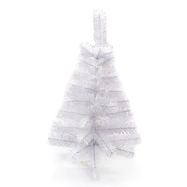 Елочка искусствен. 60 см, бел.Искусственные ёлки<br>Новогодняя елочка белого цвета от компании Новогодняя сказка - это незаменимый атрибут, который является олицетворением главного зимнего праздника - Нового Года. Данная модель обладает высотой 60 сантиметров, поэтому установить такую елочку можно будет даже в небольшую комнату. У искусственной елки имеется подставка, поэтому она будет сохранять равновесие, даже если на нее повесить много игрушек.