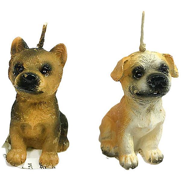 Купить Свеча Собачка 5 см, Новогодняя сказка, Китай, Унисекс