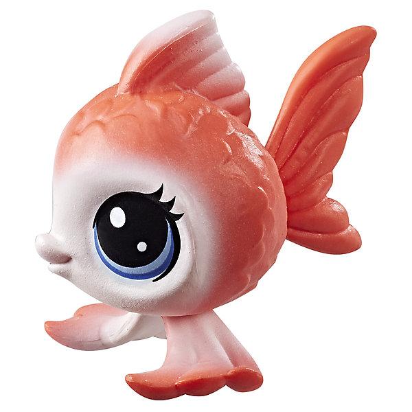 Hasbro Фигурка Littlest Pet Shop, Рыбка littlest pet shop фигурка bijou byson