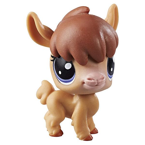 Hasbro Фигурка Littlest Pet Shop, Альпака littlest pet shop фигурка bijou byson