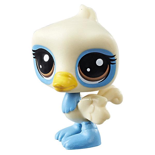 Hasbro Фигурка Littlest Pet Shop, Страус игровой набор hasbro littlest pet shop зверюшка с волшебным механизмом 4 предмета от 4 лет а5130