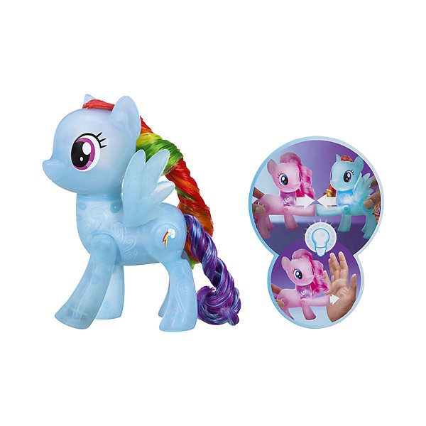 Hasbro Фигурка My little Pony Сияние. Магия дружбы, Рэйнбоу Дэш линда чапмен магия дружбы