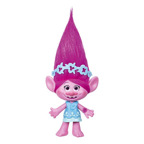 Hasbro Музыкальная фигурка Trolls Розочка, 22,5 см фигурки героев мультфильмов trolls коллекционная фигурка trolls в закрытой упаковке 10 см в ассортименте