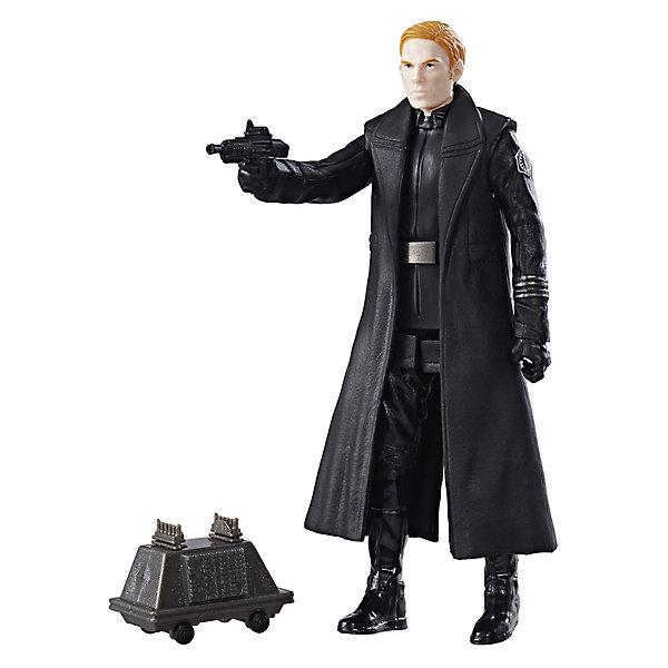 Hasbro Фигурка Star Wars Генерал Армитидж Хакс с двумя аксессуарами, 9 см.