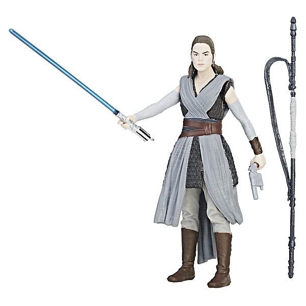 Фигурка Star Wars Рей с двумя аксессуарами, 9 см.Коллекционные фигурки<br>Характеристики:<br><br>• возраст: от 4 лет;<br>• материал: пластик;<br>• высота фигурки: 9 см;<br>• в наборе: фигурка, 2 аксессуара (оружие);<br>• вес упаковки: 68 гр.;<br>• размер упаковки: 18х3х12 см;<br>• страна бренда: США;<br>• упаковка: блистер.<br><br>Фигурка Hasbro из серии Star Wars с точностью изображает персонажа одноименного фильма. Фигурка Рей детально проработана, одежда соответствует костюму героини «Звездных войн». Кроме того, в наборе есть идентичное оружие, которое можно вставить в руки игрушки.<br><br>Фигурка подойдет дли сюжетных игр и для коллекционирования с другими фигурками этой серии. Сделано из качественных прочных материалов.<br><br>Фигурку с двумя аксессуарами 9 см, Star Wars можно купить в нашем интернет-магазине.<br>Ширина мм: 38; Глубина мм: 121; Высота мм: 184; Вес г: 113; Возраст от месяцев: 48; Возраст до месяцев: 2147483647; Пол: Женский; Возраст: Детский; SKU: 7230801;
