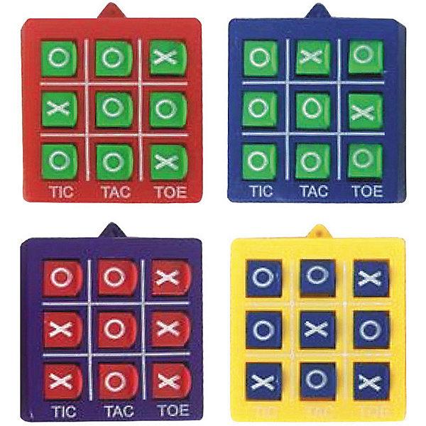 Головоломка-пазл Крестики-ноликиСтратегические настольные игры<br>Головоломка-пазл Крестики-нолики позволит играть в любимую игру в любое время и в любом мете. А главное можно играть столько, сколько хочется и не зависить от наличия бумаги и ручки!<br>Ширина мм: 50; Глубина мм: 40; Высота мм: 10; Вес г: 13; Возраст от месяцев: 36; Возраст до месяцев: 2147483647; Пол: Унисекс; Возраст: Детский; SKU: 7231065;