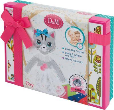 Шьем игрушку из фетра Кошка Алиса подарочная, артикул:7231081 - Рукоделие и поделки