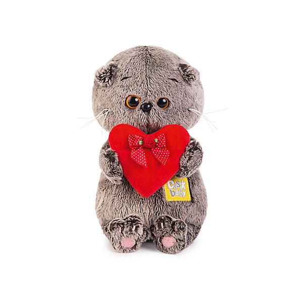 Мягкая игрушка Budi Basa Кот Басик Baby с красным сердечком, 20 смМягкие игрушки-кошки<br>Характеристики товара:<br><br>• возраст: от 3 лет;<br>• материал: текстиль, искусственный мех;<br>• высота игрушки: 20 см;<br>• размер упаковки: 22х15х11 см;<br>• вес упаковки: 320 гр.;<br>• страна производитель: Россия.<br><br>Мягкая игрушка «Басик Baby с красным сердцем» Budi Basa - очаровательный пушистый котенок с добрыми глазками. В лапках Басик держит алое сердце - знак любви и теплых эмоций. <br><br>Игрушка выполнена из качественного безопасного материала, приятного и мягкого.<br><br>Мягкую игрушку «Басик Baby с красным сердцем» Budi Basa можно приобрести в нашем интернет-магазине.<br>Ширина мм: 215; Глубина мм: 150; Высота мм: 110; Вес г: 320; Возраст от месяцев: 36; Возраст до месяцев: 168; Пол: Унисекс; Возраст: Детский; SKU: 7231215;