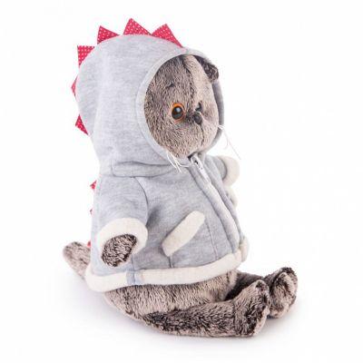 Мягкая игрушка Budi Basa Кот Басик в толстовке дракончик, 22 см, артикул:7231223 - Мягкие игрушки