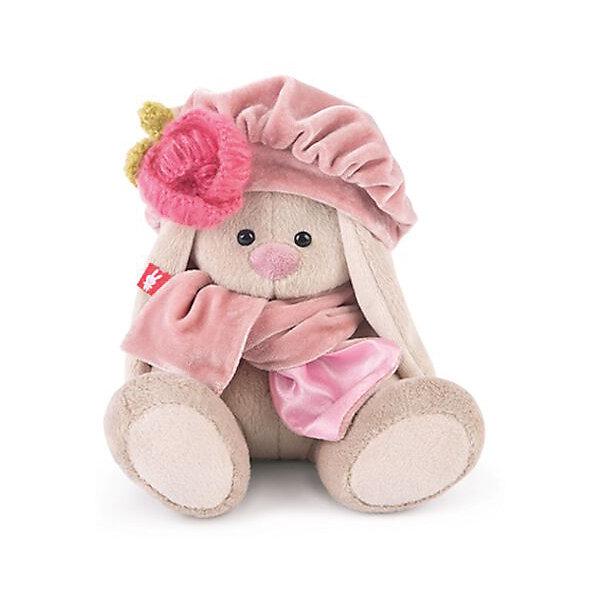 Зайка Ми в берете с вязаным цветком (малыш)Мягкие игрушки зайцы и кролики<br>Характеристики товара:<br><br>• возраст: от 3 лет;<br>• материал: текстиль, искусственный мех;<br>• высота игрушки: 13 см;<br>• размер упаковки: 13,5х13.5х13 см;<br>• вес упаковки: 210 гр.;<br>• страна производитель: Россия.<br><br>Мягкая игрушка «Зайка Ми в берете с вязаным цветком» Budi Basa — очаровательный пушистый зайчонок с длинными ушками. На зайке большой берет с вязаным цветком и шарфик. Игрушка выполнена из качественного безопасного материала, настолько приятного и мягкого, что ребенок будет брать с собой зайку в кроватку и спать в обнимку.<br><br>Мягкую игрушку «Зайка Ми в берете с вязаным цветком» Budi Basa можно приобрести в нашем интернет-магазине.<br>Ширина мм: 135; Глубина мм: 130; Высота мм: 130; Вес г: 210; Возраст от месяцев: 36; Возраст до месяцев: 168; Пол: Унисекс; Возраст: Детский; SKU: 7231235;