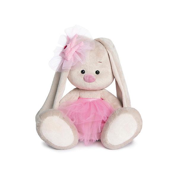 Игрушка мягконабивная Зайка Ми-балерина (малая)Мягкие игрушки зайцы и кролики<br>Характеристики товара:<br><br>• возраст: от 3 лет;<br>• материал: текстиль, искусственный мех;<br>• высота игрушки: 15 см;<br>• размер упаковки: 15х14х15 см;<br>• вес упаковки: 350 гр.;<br>• страна производитель: Россия.<br><br>Мягкая игрушка «Зайка Ми» Балерина — очаровательный пушистый зайчонок с длинными ушками. Зайка Ми одета в розовое платье. На ушке розовый бант. Игрушка выполнена из качественного безопасного материала, настолько приятного и мягкого, что ребенок будет брать с собой зайку в кроватку и спать в обнимку.<br><br>Мягкую игрушку «Зайка Ми» Балерина можно купить в нашем интернет-магазине.<br>Ширина мм: 151; Глубина мм: 140; Высота мм: 150; Вес г: 270; Возраст от месяцев: 36; Возраст до месяцев: 168; Пол: Унисекс; Возраст: Детский; SKU: 7231261;