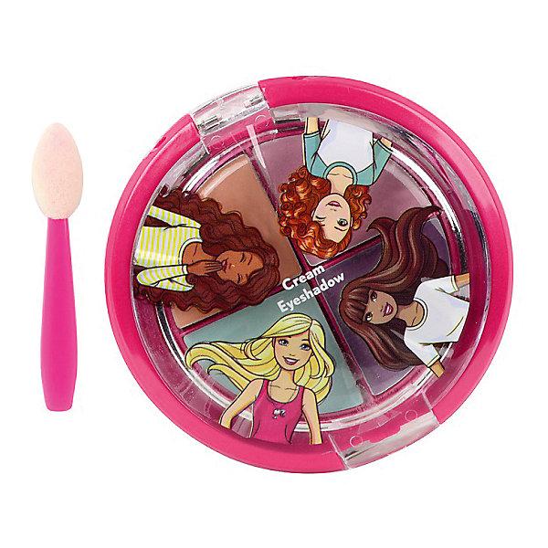 Markwins Игровой набор Markwins Barbie Декоративная косметика Тени для век, 4 цвета декоративная косметика на лето