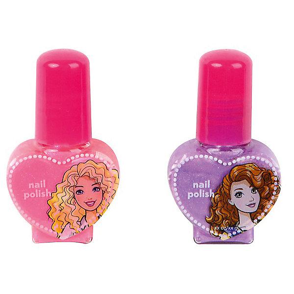 Markwins Игровой набор Markwins Barbie Декоративная косметика Лак для ногтей, 2 штуки