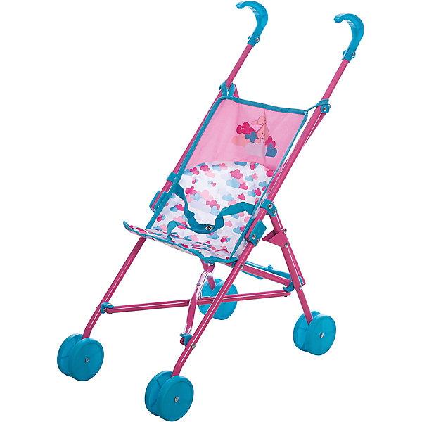 Игрушка BABY born Коляска-трость, 2017, пол.пакетТранспорт и коляски для кукол<br>Характеристики товара:<br><br>• возраст: от 3 лет;<br>• цвет: розово-голубой;<br>• пол: девочка;<br>• из чего сделана игрушка (состав): пластик, металл, текстиль;<br>• размер упаковки: 66х13х11 см.;<br>• упаковка: пакет;<br>• высота ручки: 53 см;<br>• размер коляски: 40х32х53 см;<br>• подходящая высота куклы: 43 см;<br>• вес: 1.06 кг.;<br>• страна обладатель бренда: Германия.<br><br>Коляска-трость для кукол Беби Бон Облака от немецкого производителя Zapf Creation порадует девочку ярким дизайном и реалистичным исполнением. Девочка будет увлеченно играть в дочки-матери, катая любимых кукол и мишек в легкой и красивой коляске. У колясочки отлично крутятся колеса, ею легко и просто управлять. Каркас игрушки выполнен из металлического сплава, а сиденье - текстиля. Сиденье оборудовано ремнями безопасности, как настоящее транспортное средство. Коляска-трость складывается и в собранном виде занимает мало места.  <br><br>Коляску - трость для кукол Baby Born, 2017 можно купить в нашем интернет-магазине.