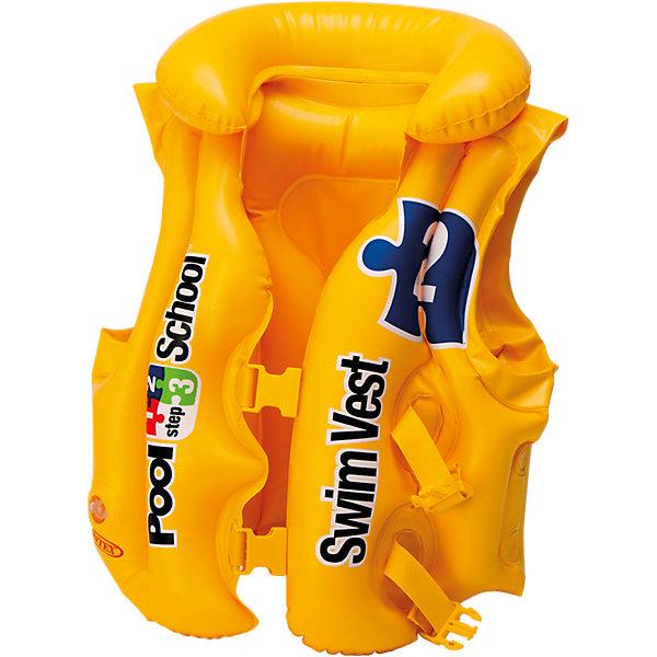 Intex Жилет для плавания Pool School, step 2