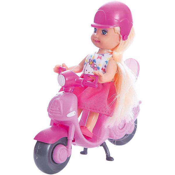 цена на Карапуз КУКЛА HELLO KITTY. Машенька 12 см, твердое тело, на скутере..