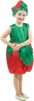 Клубничка, артикул:7234522 - Детские карнавальные костюмы и аксессуары