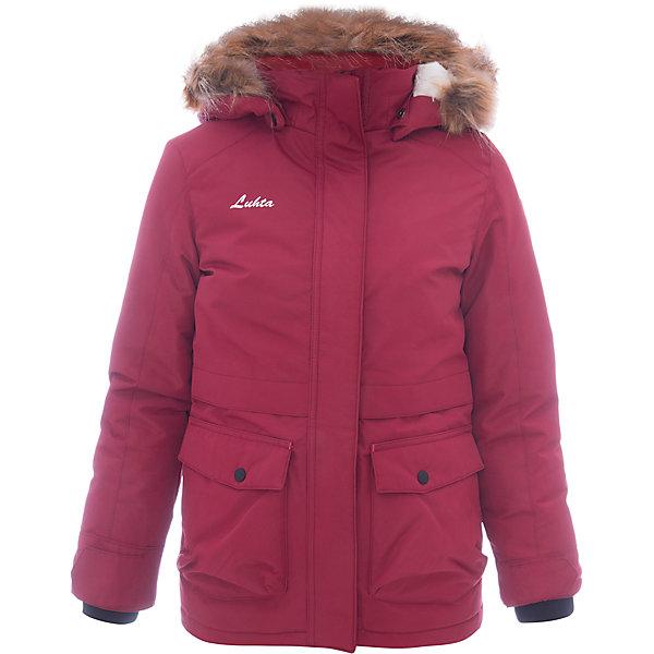 Luhta Куртка Luhta для девочки куртка утепленная luhta luhta lu692ewauhu6