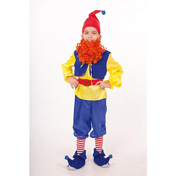 Пуговка Карнавальный костюм Гном Тилли