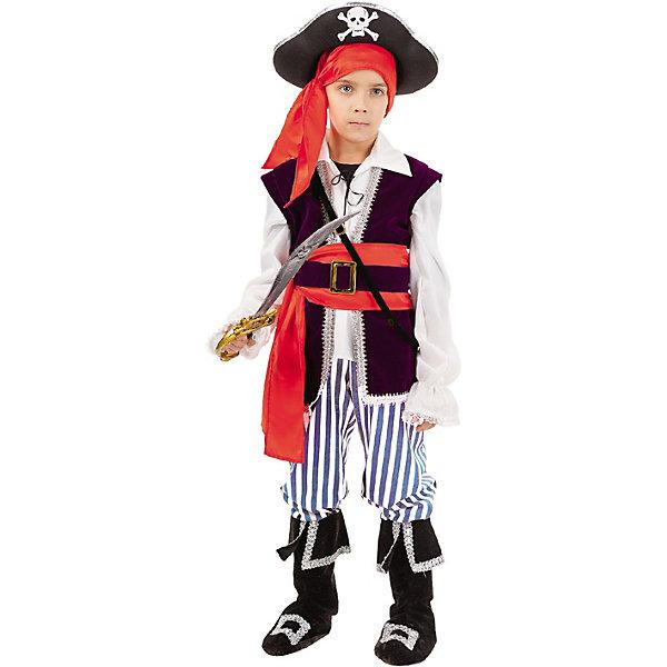 Купить Карнавальный костюм Пуговка Пират Спайк , Россия, 140, 110, 122, 146, 134, 128, 116, Мужской