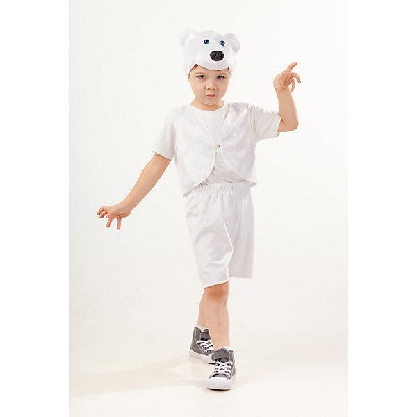 Пуговка Карнавальный костюм Пуговка Медведь белый Умка гиря iron head медведь 32 0 кг