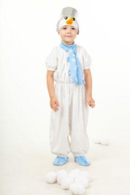 916 к-17 Костюм  Снеговик , артикул:7238738 - Детские карнавальные костюмы и аксессуары