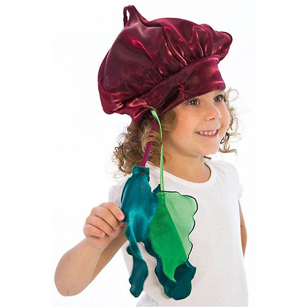Шапочка СвеклаДетские шляпы и колпаки<br>Шапочка