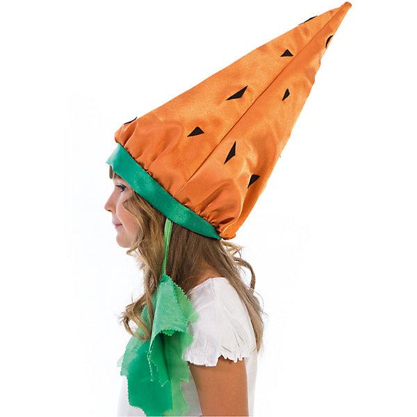 Шапочка МорковкаДетские шляпы и колпаки<br>Шапочка