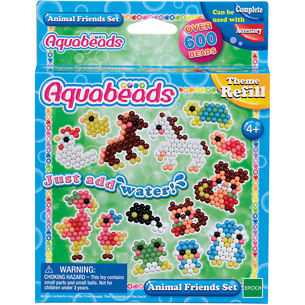 Epoch Traumwiesen Мозаика из бусин Aquabeads Забавные животные, 600 бусин набор для творчества aquabeads аквамозаика забавные животные