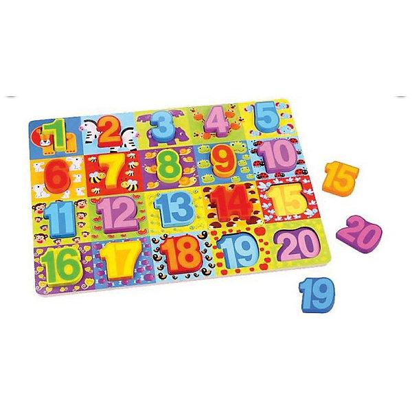 Mapacha Деревянная рамка-вкладыш Mapacha Цифры игровой набор mapacha забей шарик
