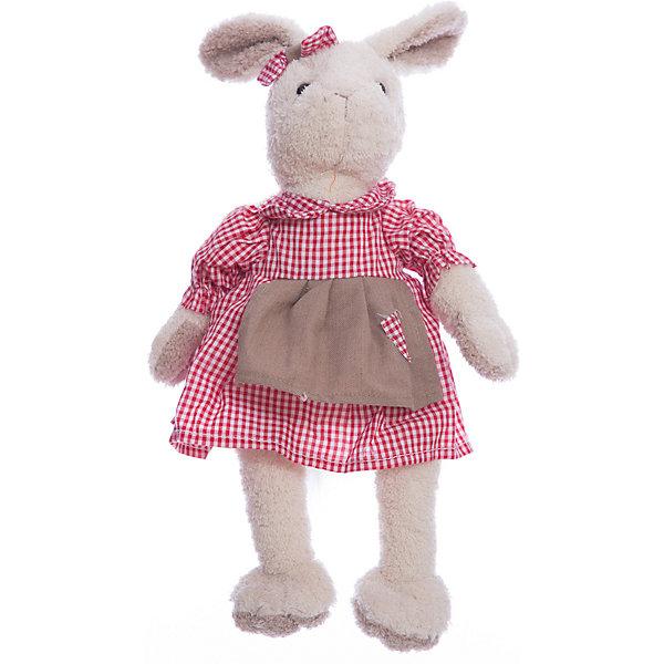 Мягкая игрушка Angel Collection Зайка Мэри в красном, 23 смМягкие игрушки животные<br>Характеристики:<br><br>• возраст: от 3 лет<br>• высота: 23 см.<br>• материал: искусственный мех, трикотаж, пластмасса<br>• наполнитель: полиэфирное волокно, полиэтиленовые гранулы<br>• уход: допускается ручная стирка при температуре 30 градусов<br><br>Обворожительная зайка Мэри понравится и детям, и взрослым. Игрушка очень мягкая и приятная на ощупь. Мэри одета в нарядное клетчатое платьице, а на ушке у нее повязан бант.<br><br>Игрушка изготовлена из искусственного меха и трикотажа, фурнитура выполнена из пластмассы. Наполнитель - полиэфирное волокно и полиэтиленовые гранулы.<br><br>Зайку Мэри в красном 23см. можно купить в нашем интернет-магазине.<br>Ширина мм: 205; Глубина мм: 90; Высота мм: 410; Вес г: 220; Возраст от месяцев: 36; Возраст до месяцев: 2147483647; Пол: Унисекс; Возраст: Детский; SKU: 7240478;