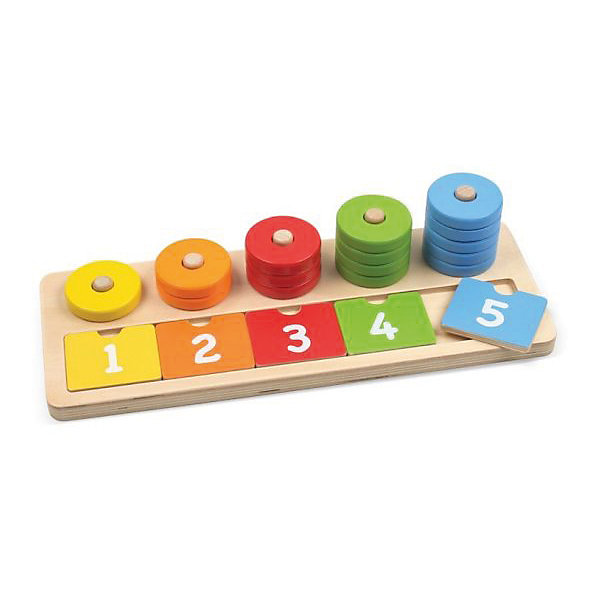 Mapacha Пирамидка с вкладышем Mapacha Учимся считать игрушка mapacha учимся считать 76718